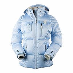 Obermeyer Leighton Womens Insulated Ski Jacket, Icescape Blue, 256
