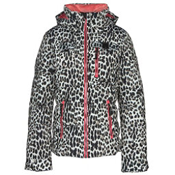 Obermeyer Leighton Womens Insulated Ski Jacket, Leopard, 256