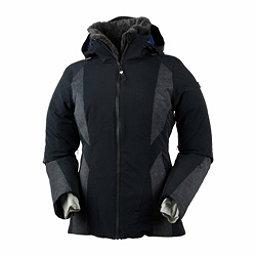 Obermeyer Sola Down Womens Insulated Ski Jacket, Black, 256
