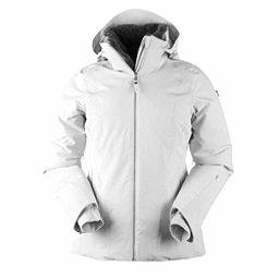 Obermeyer Sola Down Womens Insulated Ski Jacket, White, 256