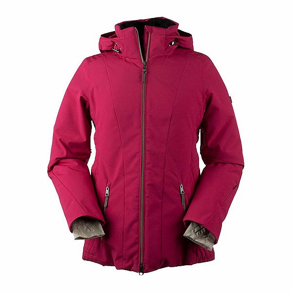 Obermeyer Siren - Petite Womens Insulated Ski Jacket, Sangria, 600