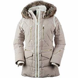 Obermeyer Blythe Down w/Faux Fur Womens Insulated Ski Jacket, Cashmere, 256