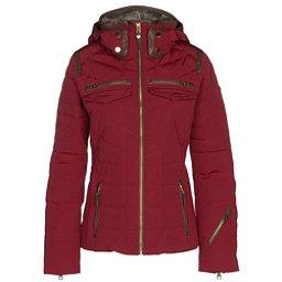 Obermeyer Devon Down Womens Insulated Ski Jacket, Red Tannin, 256