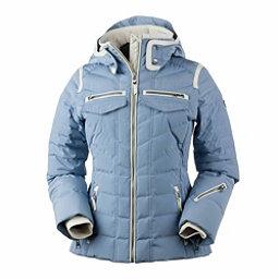 Obermeyer Devon Down Womens Insulated Ski Jacket, Washed Indigo, 256