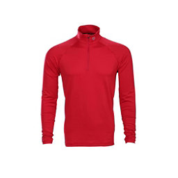 Descente Hans T-Neck Mens Mid Layer, Electric Red, 256