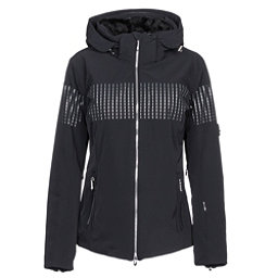 Descente Reagon Womens Insulated Ski Jacket, Black, 256