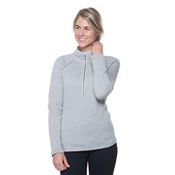 KUHL Zuri 1/2 Zip Womens Sweater, Ash, 256
