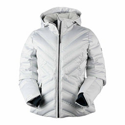 Obermeyer Belle Down Womens Insulated Ski Jacket, Ceramic, 256