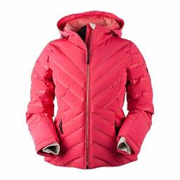 Obermeyer Belle Down Womens Insulated Ski Jacket, Island Sunset, 256