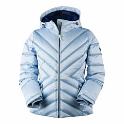 Obermeyer Belle Down Womens Insulated Ski Jacket, Icescape Blue, 256