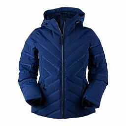 Obermeyer Belle Down Womens Insulated Ski Jacket, Resort At Midnight, 256