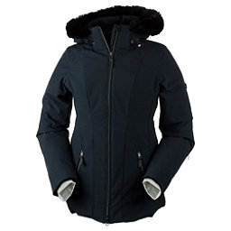 Obermeyer Siren w/Faux Fur Womens Insulated Ski Jacket, Black, 256