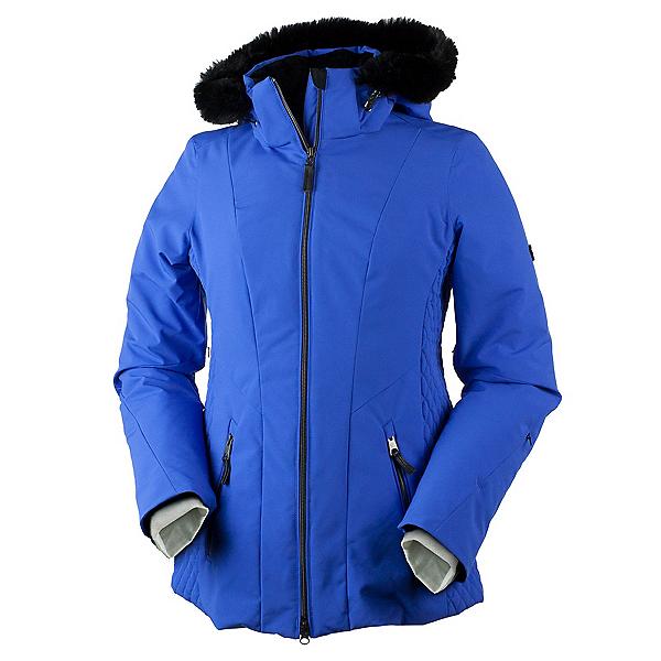 Obermeyer Siren Petite w/Faux Fur Womens Insulated Ski Jacket, Alexandrite, 600