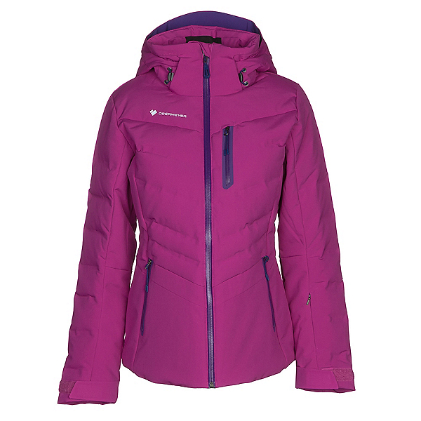 Obermeyer Cosima Down Womens Insulated Ski Jacket, Violet Vibe, 600