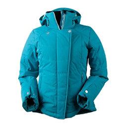 Obermeyer Vienna Womens Insulated Ski Jacket, Mermaid, 256