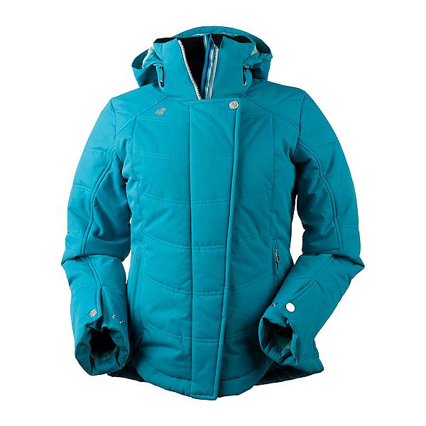Obermeyer Vienna Womens Insulated Ski Jacket, Mermaid, 600