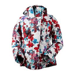 Obermeyer Vienna Womens Insulated Ski Jacket, Snow Fire Floral, 256