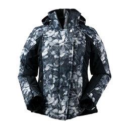 Obermeyer Vienna Womens Insulated Ski Jacket, Blackout Floral, 256
