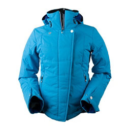 Obermeyer Vienna Womens Insulated Ski Jacket, Polar Blue, 256