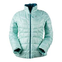 Obermeyer Soleil Reversible Down Insulator Womens Jacket, Sea Glass, 256