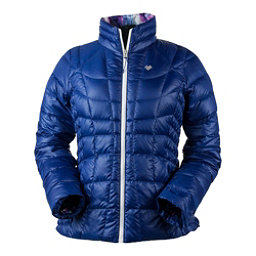Obermeyer Soleil Reversible Down Insulator Womens Jacket, Dusk, 256