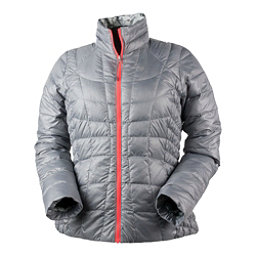 Obermeyer Soleil Reversible Down Insulator Womens Jacket, Overcast, 256