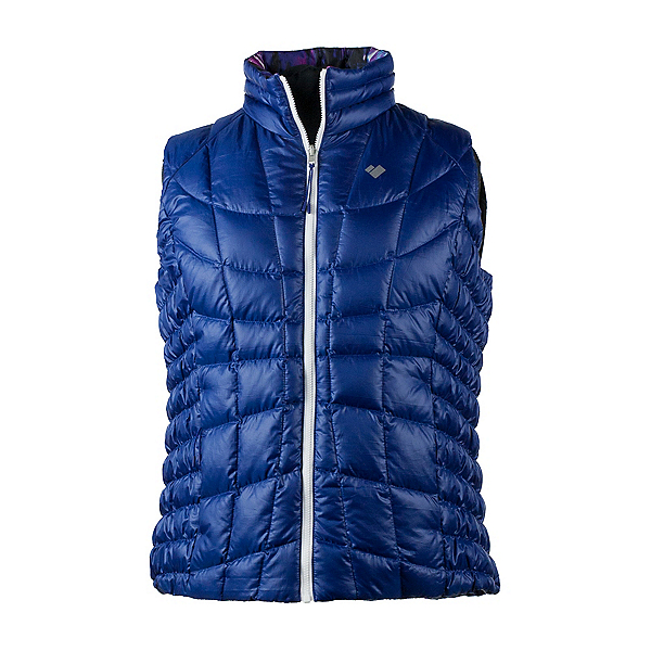 Obermeyer Soleil Reversible Down Womens Vest, Dusk, 600
