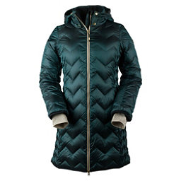 Obermeyer Devi Down Parka Womens Jacket, Glamp Green, 256