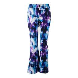 Obermeyer Printed Bond - Long Womens Ski Pants, Apres Effect, 256