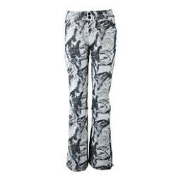 Obermeyer Printed Bond - Long Womens Ski Pants, Mountain Mirage, 256