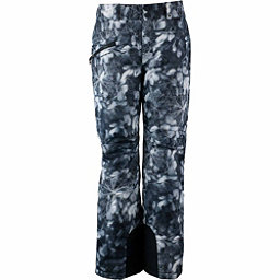 Obermeyer Malta - Short Womens Ski Pants, Blackout Floral, 256