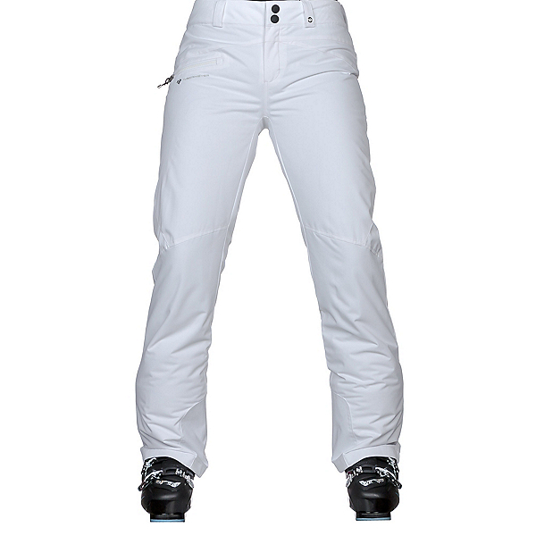 Obermeyer Malta - Long Womens Ski Pants, White, 600
