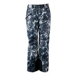 Obermeyer Malta - Long Womens Ski Pants, Blackout Floral, 256