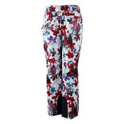 Obermeyer Malta - Long Womens Ski Pants, Snow Fire Floral, 256