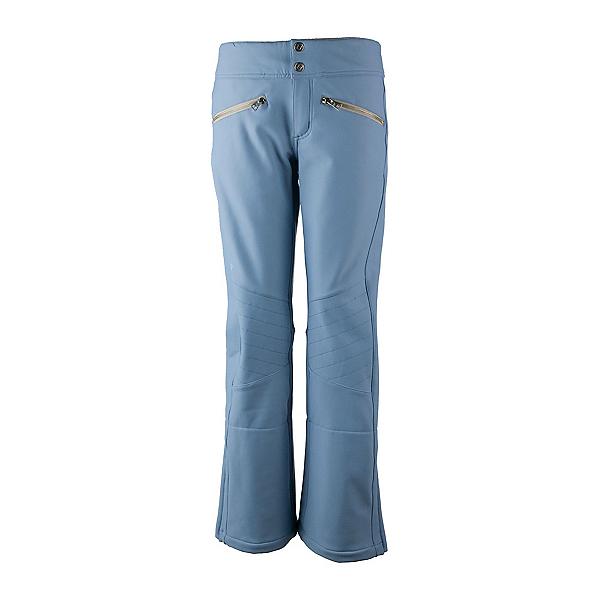 Obermeyer Clio Softshell - Long Womens Ski Pants, Washed Indigo, 600