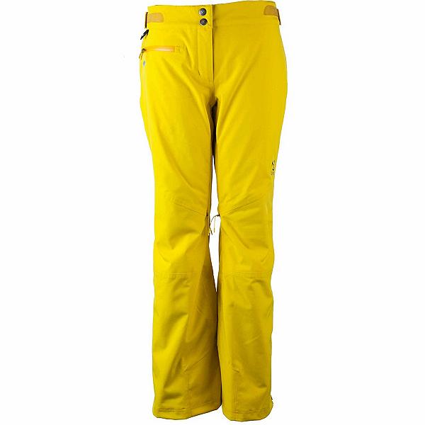 Obermeyer Straight Line Womens Ski Pants, Turmeric, 600