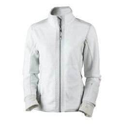 Obermeyer Flora Fleece Womens Jacket, White, 256