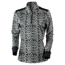 Obermeyer Nari 1/4 Zip Womens Mid Layer, Leopard, 256