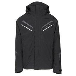 Obermeyer Trilogy Prime Mens Insulated Ski Jacket, Black, 256
