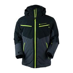 Obermeyer Z-Axis Mens Insulated Ski Jacket, Ebony, 256