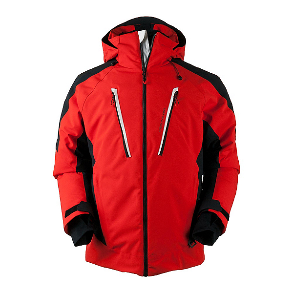 Obermeyer Foundation Tall Mens Insulated Ski Jacket, Red, 600
