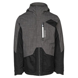 Obermeyer Freeform Mens Insulated Ski Jacket, Dark Heather Grey, 256