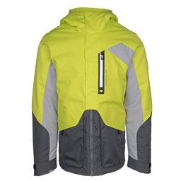 Obermeyer Freeform Mens Insulated Ski Jacket, Green Flash, 256