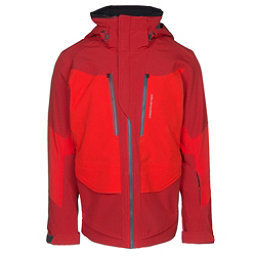 Obermeyer Kodiak Mens Insulated Ski Jacket, Fire Brick, 256
