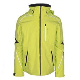 Obermeyer Charger Mens Insulated Ski Jacket, Green Flash, 256