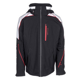 Obermeyer Charger Mens Insulated Ski Jacket, Black, 256