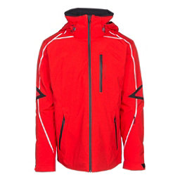 Obermeyer Charger Mens Insulated Ski Jacket, Red, 256