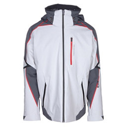 Obermeyer Charger Mens Insulated Ski Jacket, Fog, 256