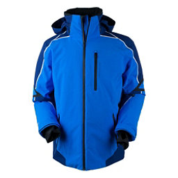Obermeyer Charger Tall Mens Insulated Ski Jacket, Stellar Blue, 256
