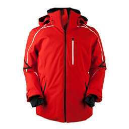 Obermeyer Charger Tall Mens Insulated Ski Jacket, Red, 256